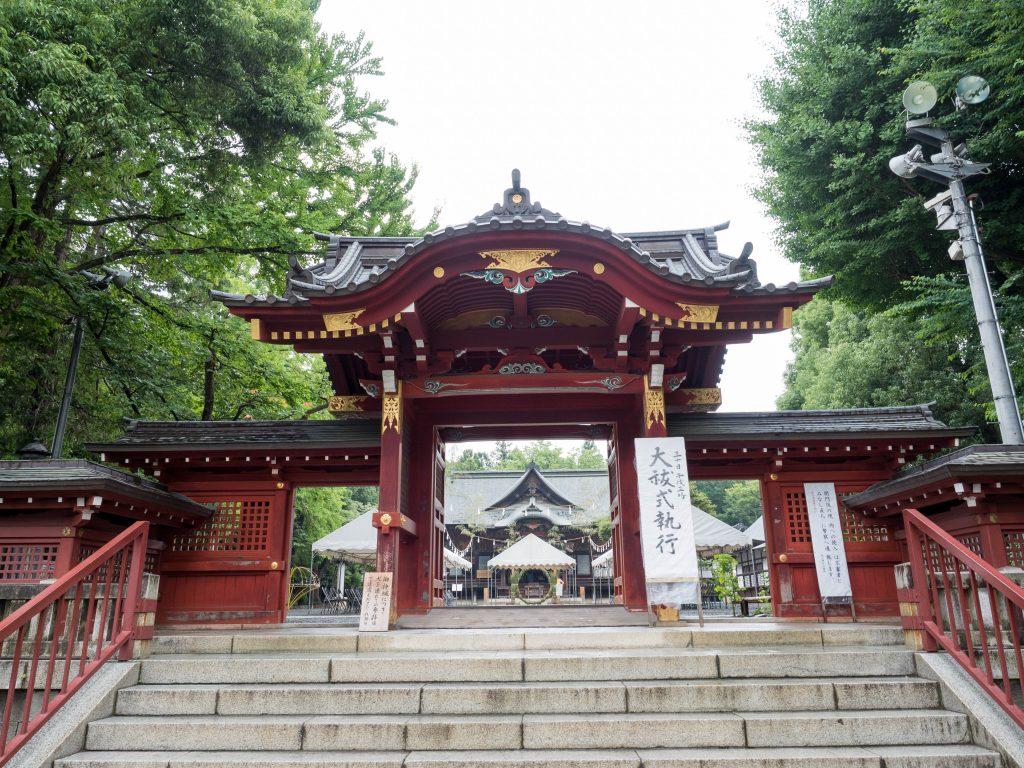 秩父神社の大祓式